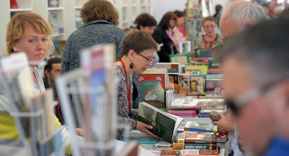 """""""红场""""图书节6日在莫斯科开幕"""