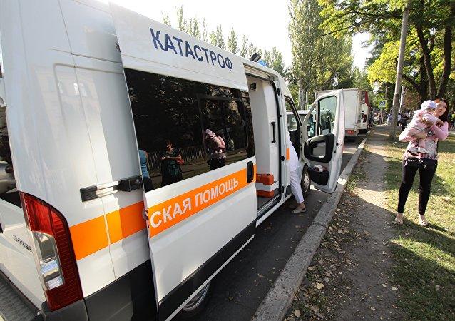 急救车(资料图片)