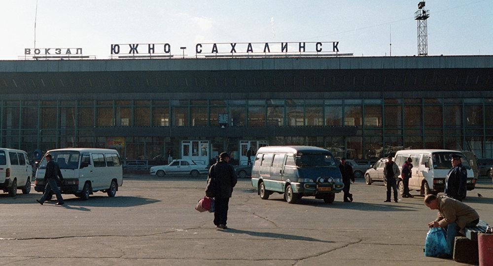 南萨哈林斯克火车站