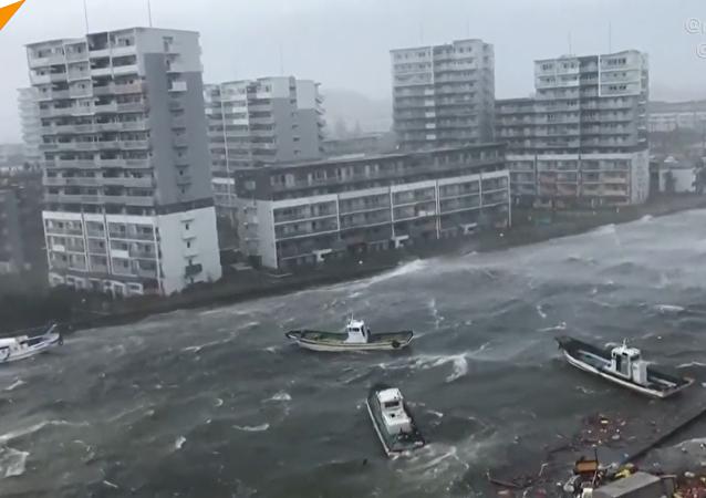 日本,台风