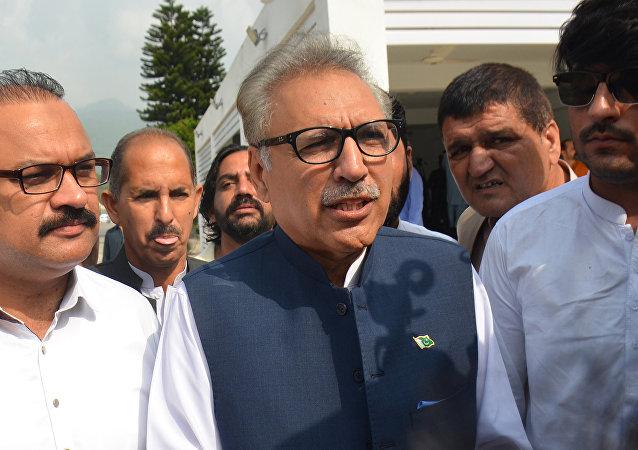 巴基斯坦总统阿里夫•阿尔维