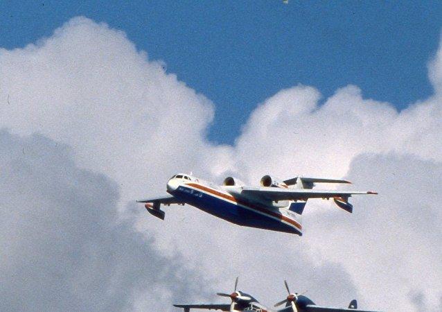 俄拟恢复生产世上最大的水陆两用飞机