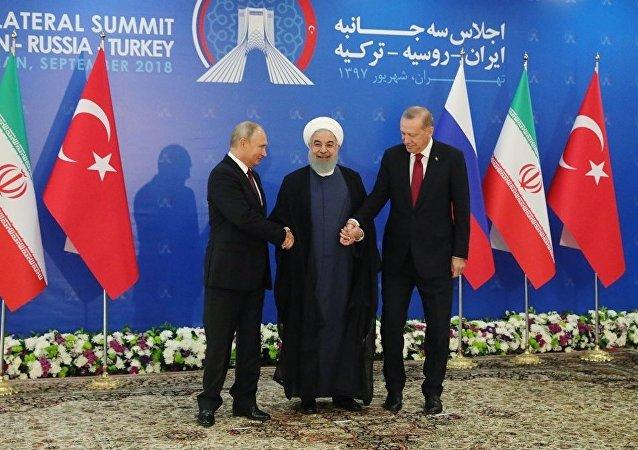 俄土伊领导人峰会