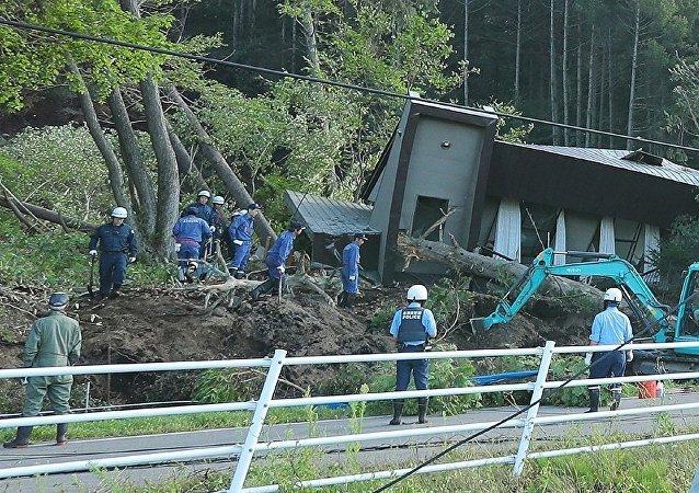 日本政府:北海道地震死亡人数升至21人