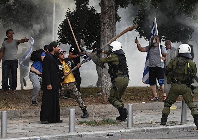 9月8日,希腊塞萨洛尼基