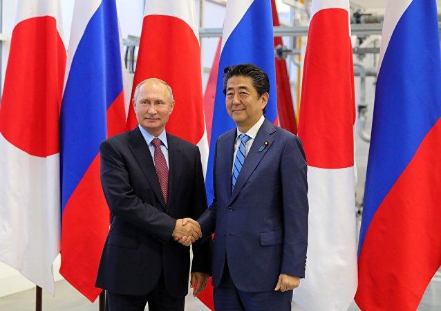 普京:俄日关系正在向前发展