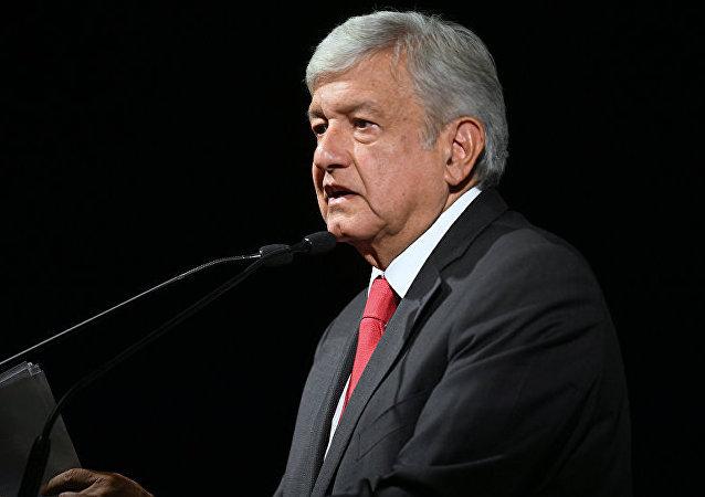 墨西哥总统安德烈斯∙曼努埃尔∙洛佩斯∙奥夫拉多尔