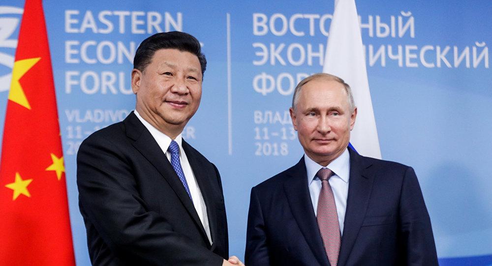 习近平与普京会晤