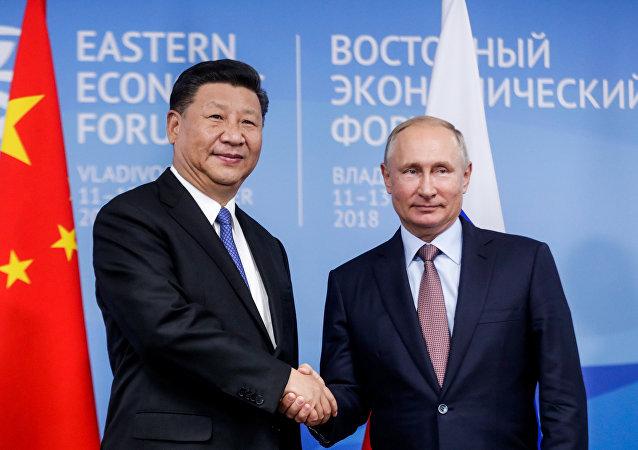 普京:俄中会谈创造机会勾画下一步合作计划