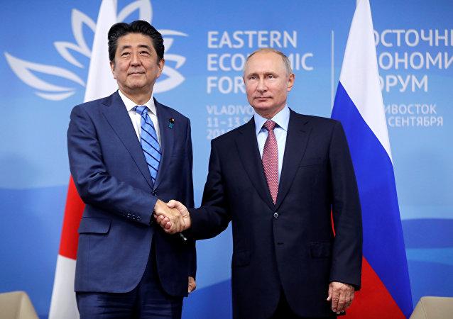 媒体:日俄元首在普京有关和平条约的提议后交换意见