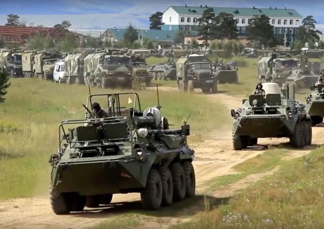 俄军官:俄中两国官兵不仅胜任作训还精于作战