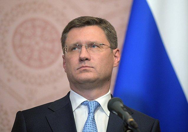 俄能源部长诺瓦克