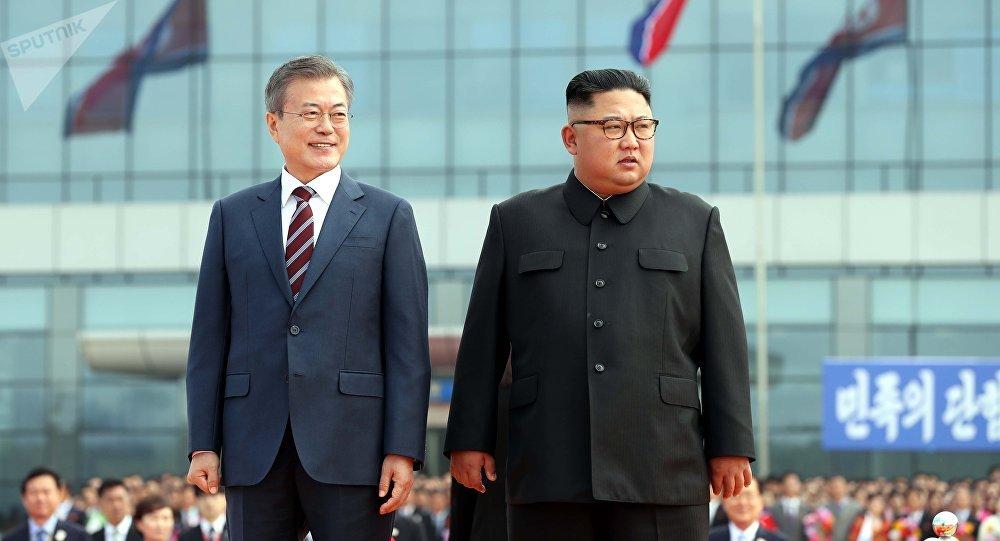 Встреча лидеров Северной и Южной Кореи