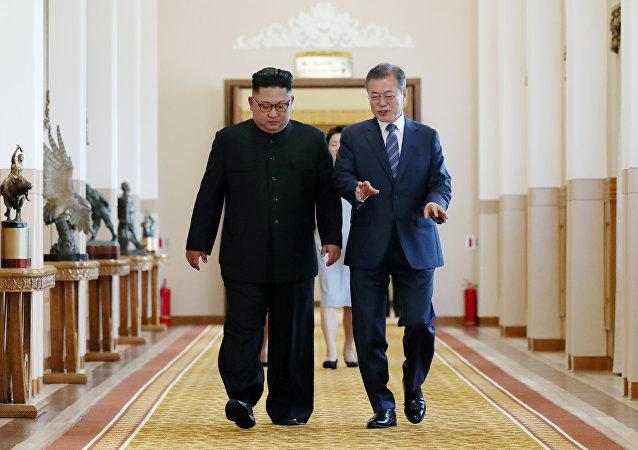外媒:金正恩计划12月访问首尔