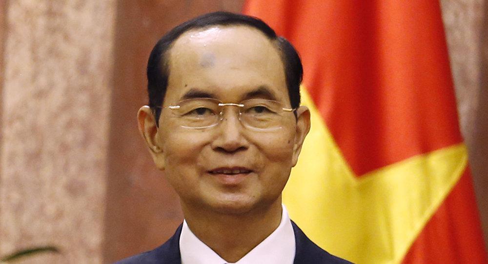 Vietnam's President Tran Dai Quang
