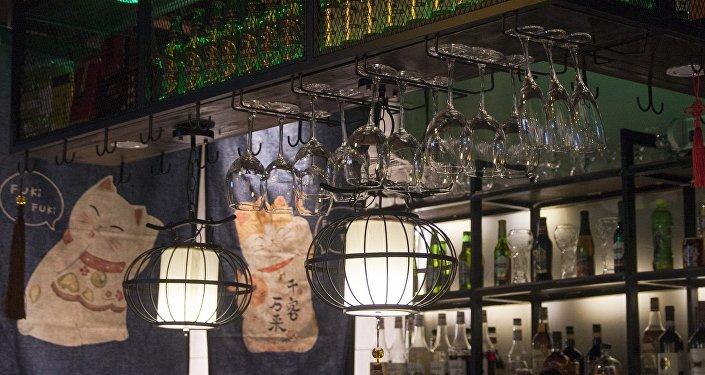 餐厅不仅在菜式上新颖奇特,在整个餐厅的装修风格上也是独具一格。
