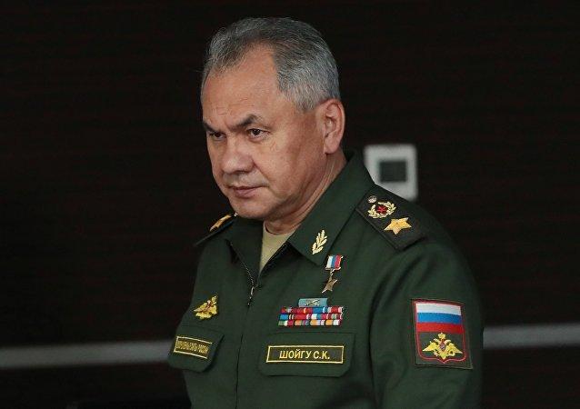 俄国防部长谢尔盖∙绍伊古