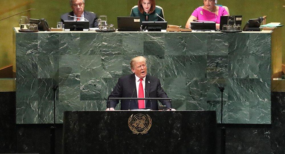 特朗普:解决叙利亚冲突的方案应考虑伊朗在叙势力