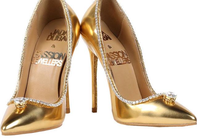 迪拜将展出全球最贵鞋子