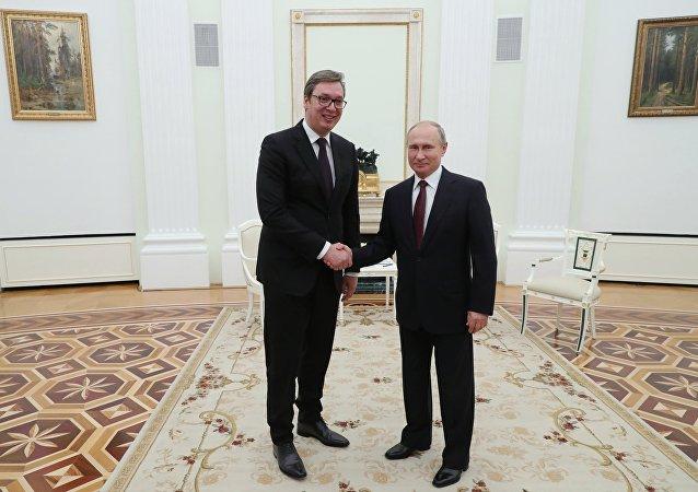 塞尔维亚总统邀请普京近期对塞进行访问