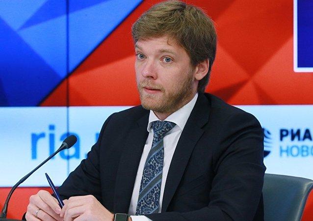 莫斯科出口中心总经理基里尔∙伊利乔夫