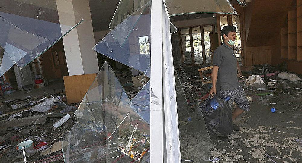 联合国拨款1500万美元帮助印尼救灾