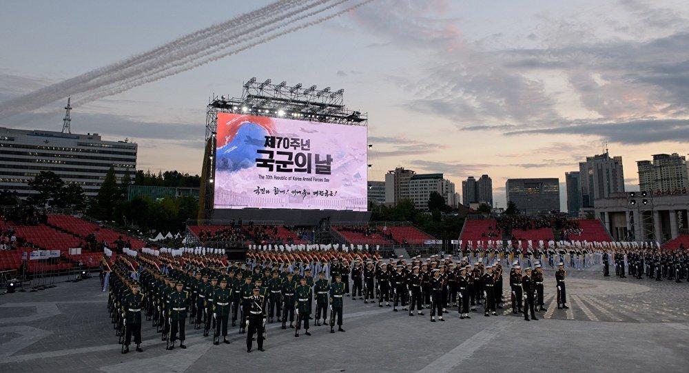 韩国今年用江南style庆祝建军70周年