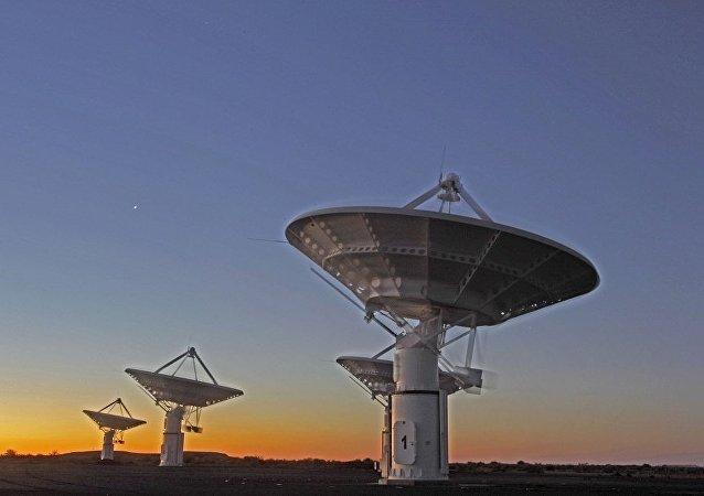 世界上最大的南非射电望远镜
