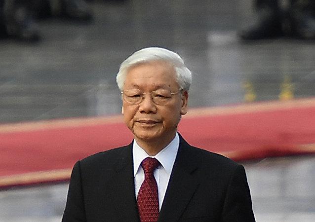 越南共产党中央总书记、国家主席阮富仲
