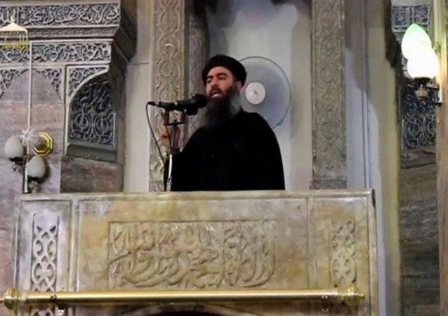"""恐怖组织""""伊斯兰国""""头目阿布•巴格达迪"""