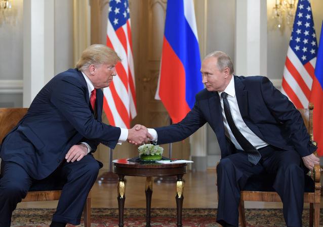 普京和特朗普(资料图片)