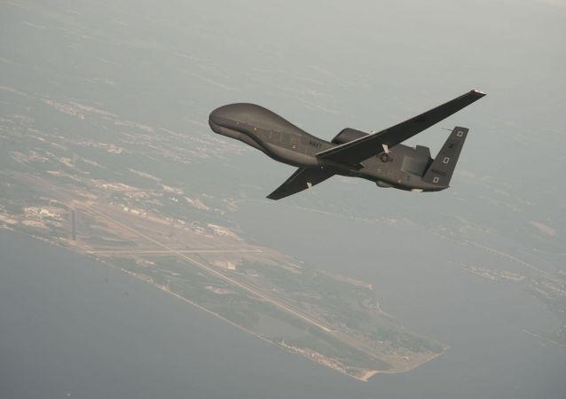 """""""全球鹰""""无人机 (RQ-4 Global Hawk)"""