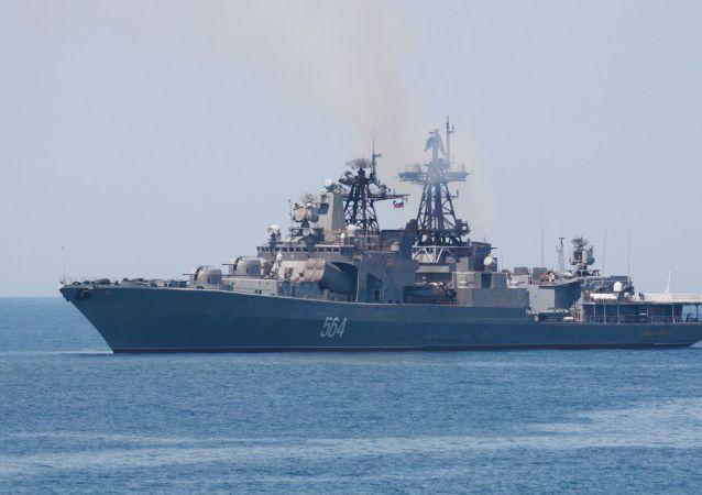 俄海军太平洋舰队部队完成对日本的访问