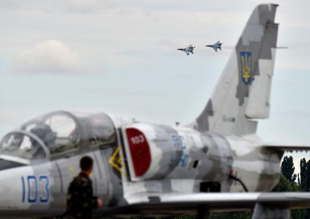 空军演习在乌克兰启动