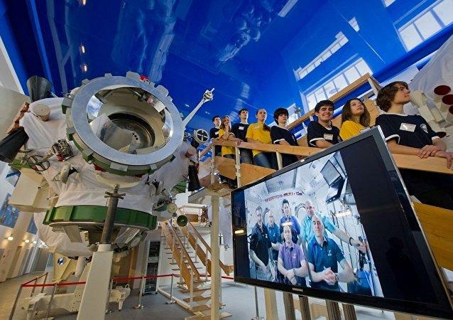Полноразмерный макет станции Мир в Космоцентре в Центре подготовки космонавтов имени Ю.А. Гагарина