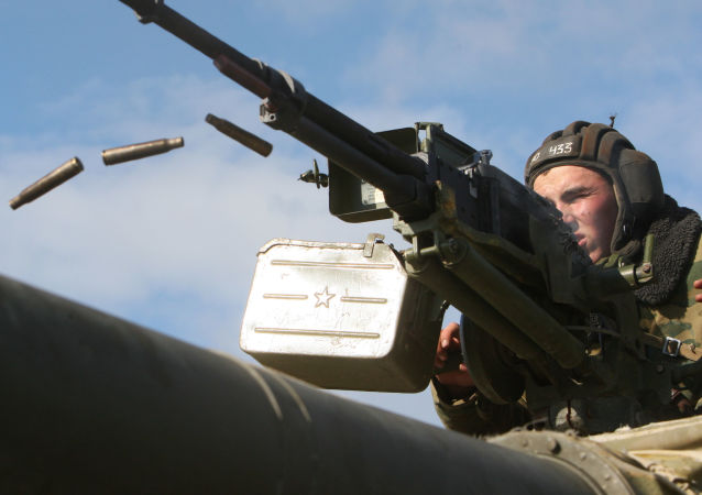 俄军演 在波罗的海