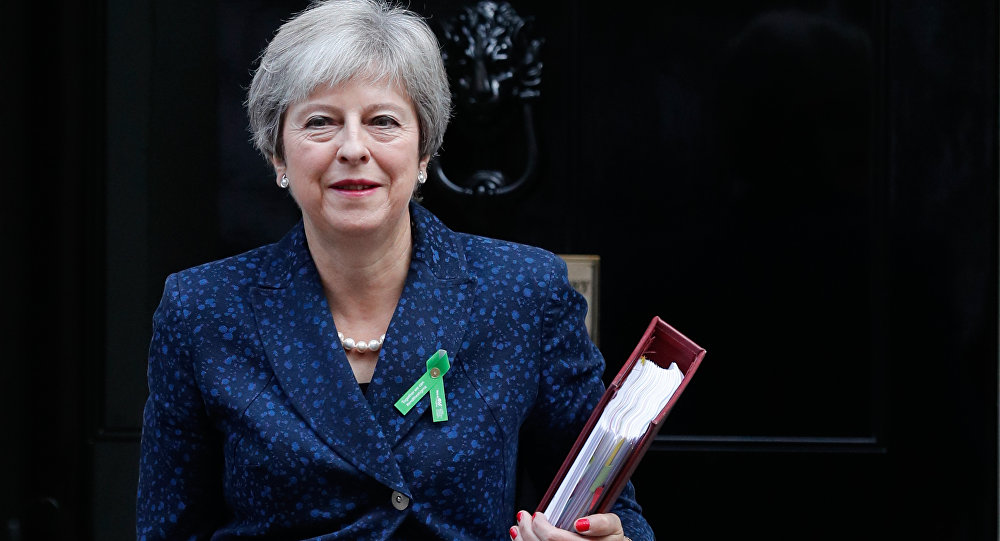 英国首相特雷莎∙梅
