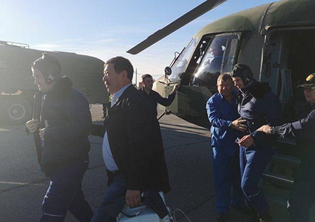俄航天集团总经理庆幸联盟号飞船事故未造成更严重的后果