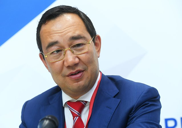 俄罗斯萨哈共和国(雅库特)领导人艾桑·尼古拉耶夫