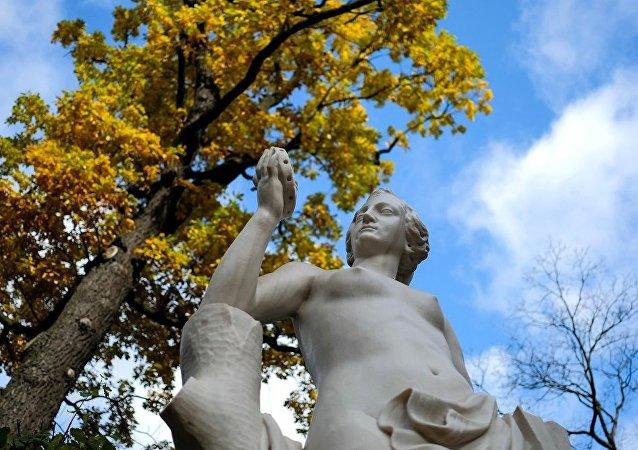 夏宫花园,圣彼得堡