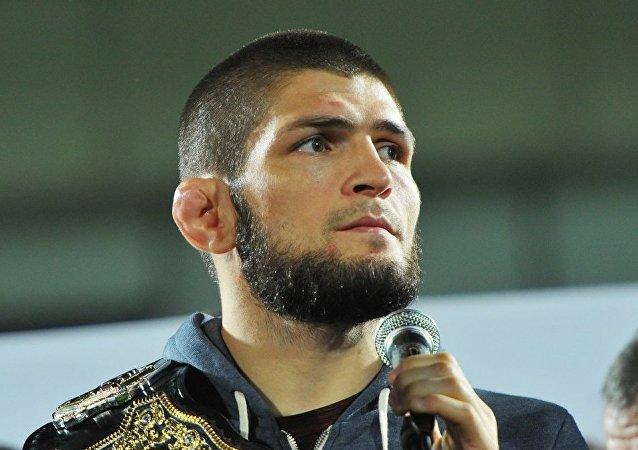 普京邀请UFC冠军努尔马戈梅多夫做客克宫