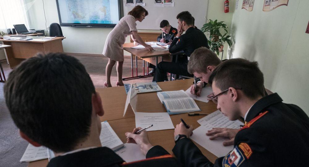 莫斯科中小学将于1月18日恢复正常面对面教学