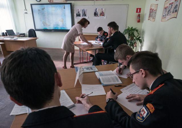 俄中部军区:汉语被列入图瓦共和国首府武备学校必修课