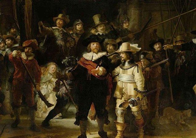 荷兰博物馆拟直播伦勃朗名画修复过程