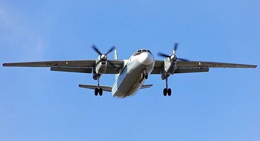 普京向迫降布里亚特的安-24机组人员颁奖