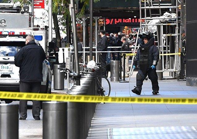 媒体:美国邮包炸弹嫌疑人称炸弹未造成威胁
