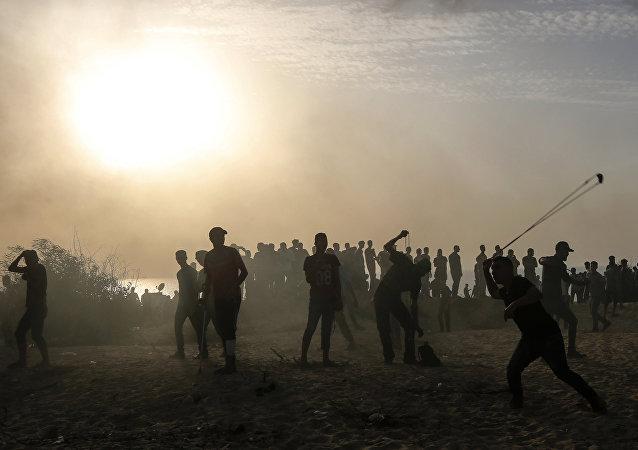 巴勒斯坦卫生部:加沙地带边境冲突致5名巴方人员死亡