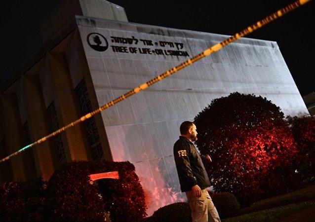 美国犹太教堂袭击者遭29项指控