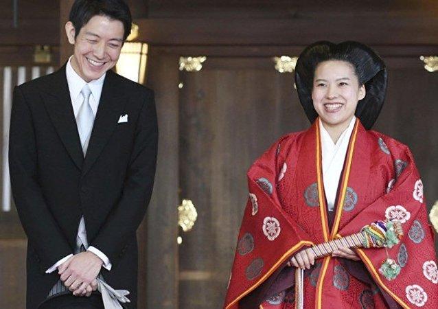 日本公主绫子下嫁平民后将失去皇族身份