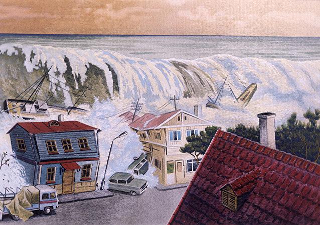 警报: 海啸!